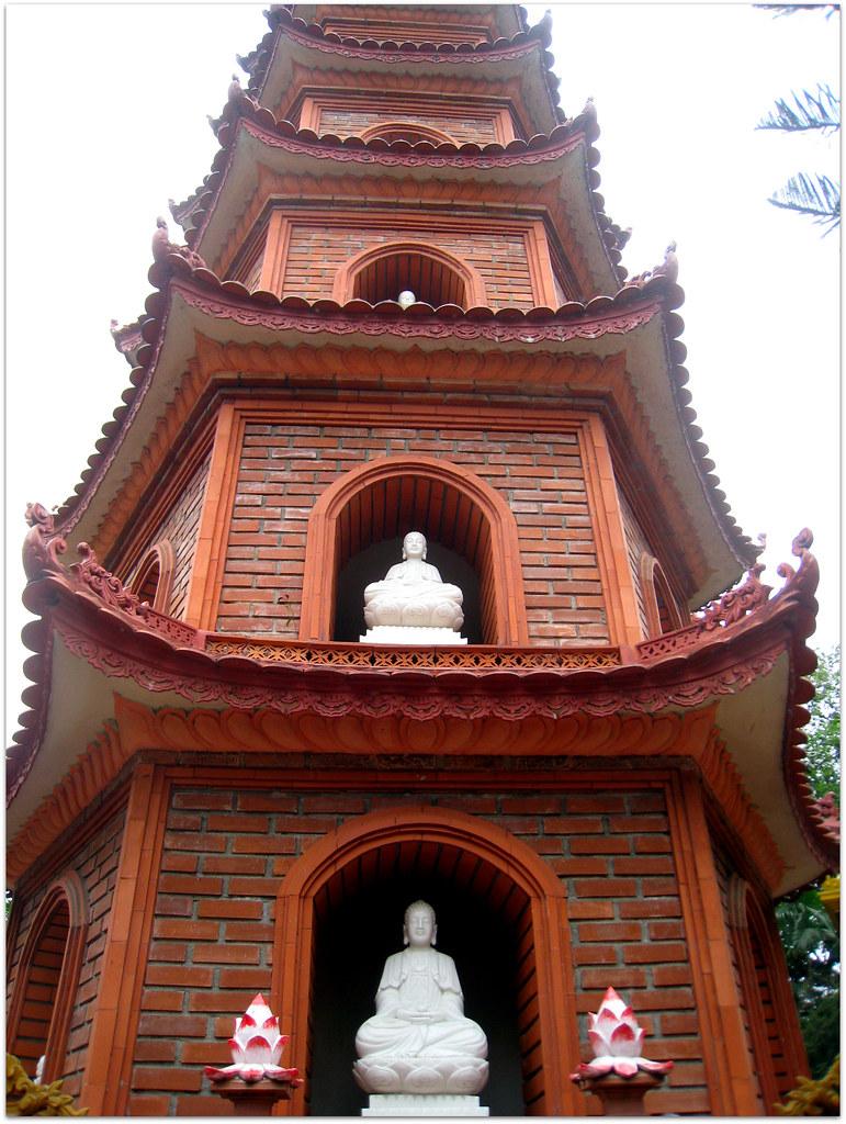 Au Temple de Quan Thanh