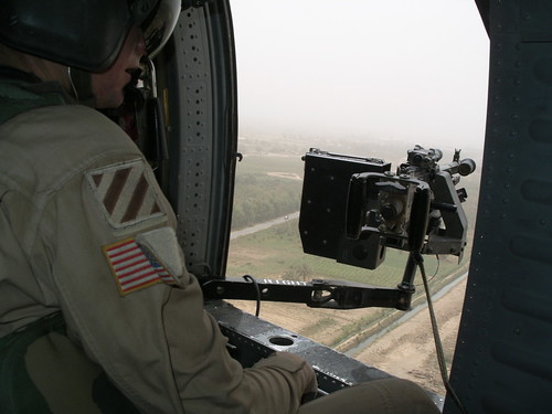 Black Hawk Gunner Position
