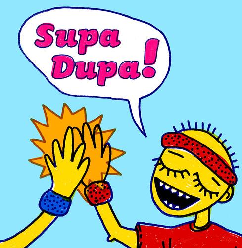 Supa Dupa! - CD cover 2