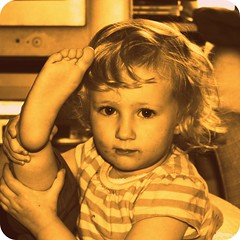 Amy (stephalie1977) Tags: foot toddler amy seriousexpression 91365 hpad hpad010409