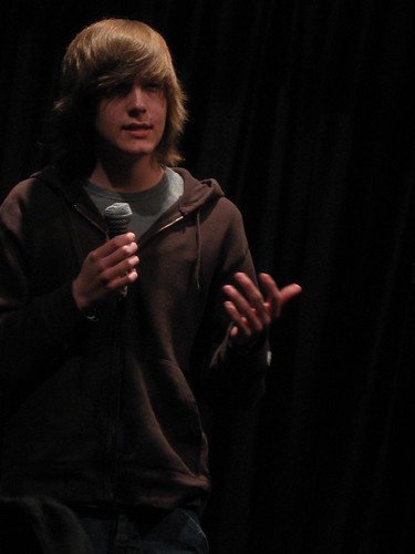 Tony Grayson @ Second City Training Center Teen Stand-up Student Show April 2, 2009