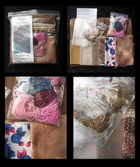 Melted Fabrics Textiles Art Kit