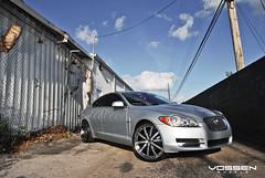 Jaguar XF with Vossen VVS-083 Wheels (VossenWheels) Tags: light black silver miami wheels deep lip gloss fl jaguar weight forged matte xf 083 machined vossen vvs vvs083 vossenwheelscom