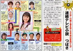 3/30 NHK 連続テレビ小説 つばさ 毎週月〜土曜 前8:15〜8:30