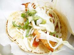 fish taco @ pinche taqueria