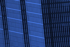 Toronto Blues Lines (swisscan) Tags: blue toronto building window glass architecture skyscraper office steel superaplus aplusphoto