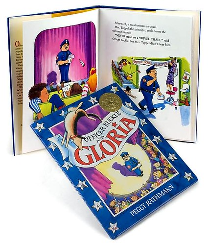 Top 100 Picture Books #59: Officer Buckle and Gloria by Peggy Rathmann