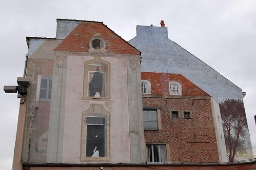 Fachada en Lille (Francia)