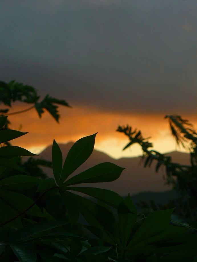 Vanuatu : Ile de Tanna #38 : coucher de soleil #5