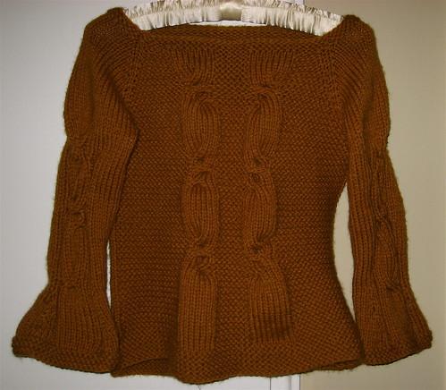 alexandra ballet sweater