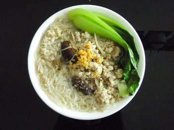 minced pork bee hoon