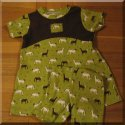 Horse Swing Top And Short Set  Toddler     2T 3T 4T