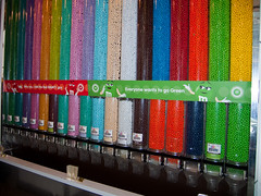 Millions of M&Ms at the M&M shop (david.nikonvscanon) Tags: newyork colour store sweet chocolate m smarties mm