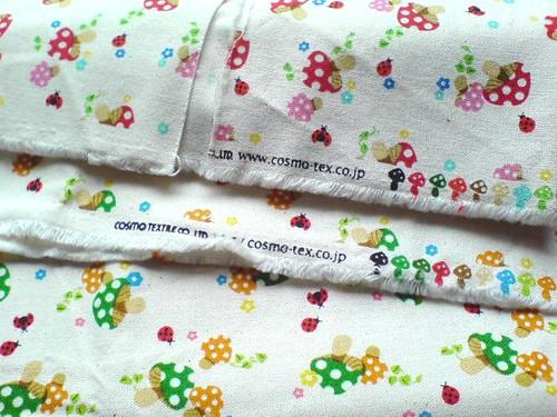 Mushie ♥ fabrics