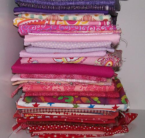 folded sloppy fabric