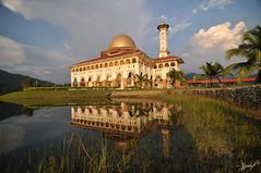 Dari Ipoh ke Gombak ke masjid DQ (zzclef) Tags: dq kkb kualakububaru huluselangor nikond300 tokina1116mmf28 annamir darulquran buyie epicmazur