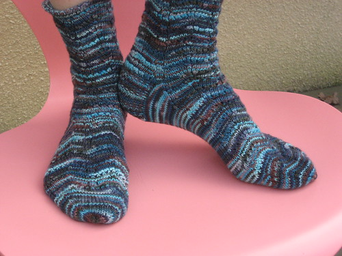 Potpurri Socks - front and side