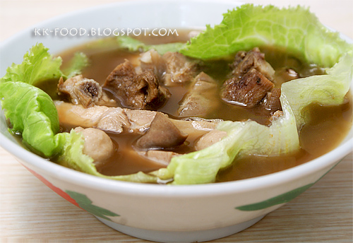 Mixed Bak Kut Teh