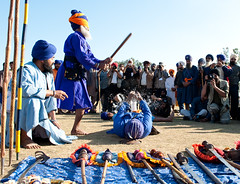 Blindfolded Magic (gurbir singh brar) Tags: training sikhs punjab vidya singh discipline brar shastar gurbir nihang gurbirsinghbrar magharsingh babamagharsingh