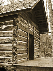 Back in Time (medic_51) Tags: old mountain gardens pine georgia log cabin callaway