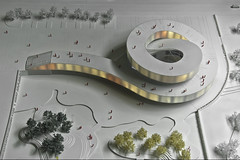 spiral for changxing island - china...........model 1: 200 (d.teil) Tags: china museum architecture spiral hall model asia renderings dalian exhibition architect architektur escher visual modelling rendering spirale endless wettbewerb endlos competetion dteil changxingisland