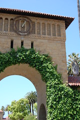 Entering the Quad (Stanford, California, United States) Photo