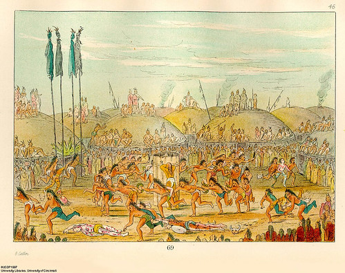 014-La última carrera-ceremonia Mandan O-kee-pa-George Catlin 1841