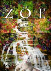 ZOE (Life) (ArteZoe) Tags: life water photoshop river zoe waterfall cross faith jesus health lamb sensational salvation heavenly eternal refreshment artezoe inspiredbyhim
