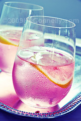 (hd connelly) Tags: pink food silver hdconnelly interestingness lemon drink explore cocktail gi