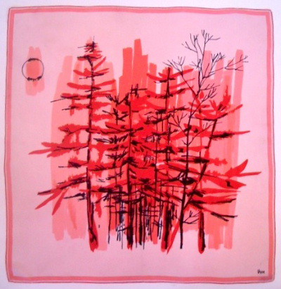 ETSY VERA TREES SCARF