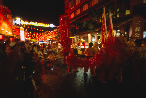 Lion Dance on Jonker Street