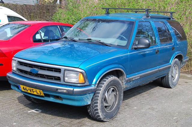 chevrolet truck 1996 blazer gmc