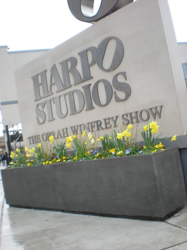 Sign for Harpo Studios: The Oprah Winfrey Show