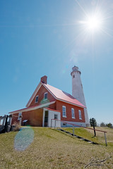 Tawas Point Lighthouse Just After Noon