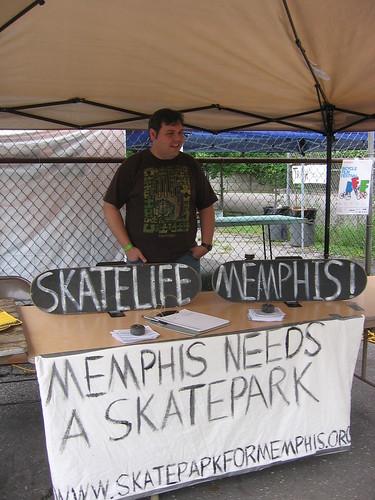 Skatelife Memphis Booth