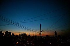 skyline #4 - havaí, são paulo (Ana Luz) Tags: city light cidade skyline night dark sãopaulo vista noite analuz