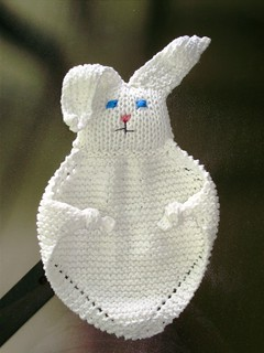 Ravelry: Bunny Blanket Buddy (Knit) #50722 pattern by Lion ...