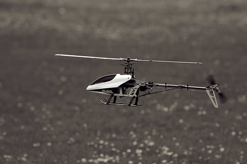 RC Helicopter in Flight by Ian_Boys