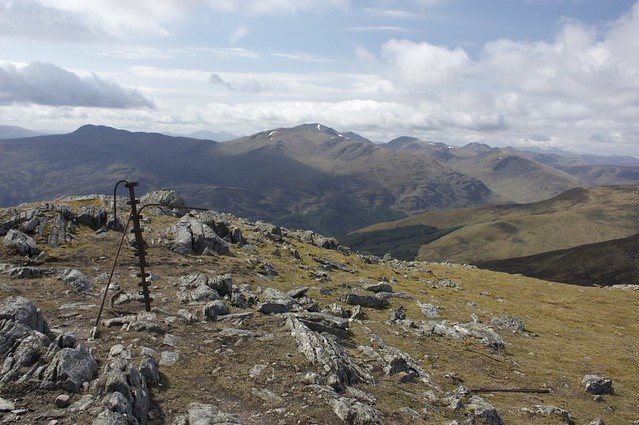 Lawers from Meall a' Bharr