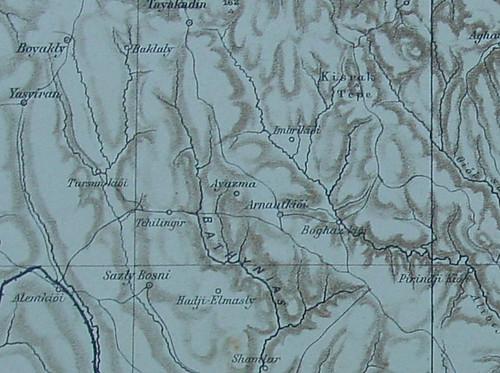 Arnavutkoye ait bir harita