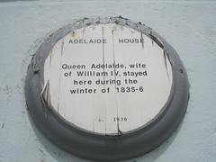 Photo of Adelaide of Saxe-Meiningen gold plaque