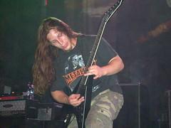 Dan Gapen of Lazarus AD (old_skool_metal_head) Tags: music robert metal concert  esp norva escue nikoncoolpixs210 lazarusad dangapen espdv8