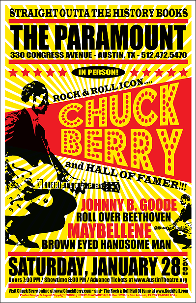 Chuck Berry Live @ The Paramount (Austin, TX) 1.28.2006