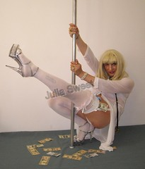 Sweet strip nurse 8) (Julia Sweet) Tags: tv cd transgender tranny transvestite trans crossdresser tg