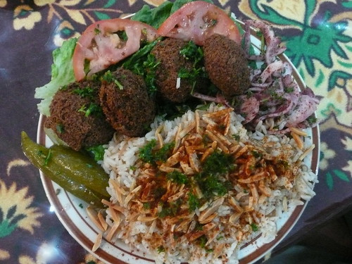 La Crave Falafel Lunch Special
