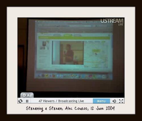 Streaming a Stream