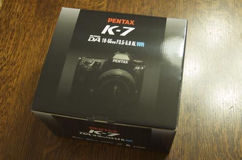 PENTAX K-7 BOX