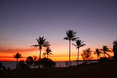 Tropical sunset (marj k) Tags: sunset nt darwin mindilbeach indianculturalfestival img28551