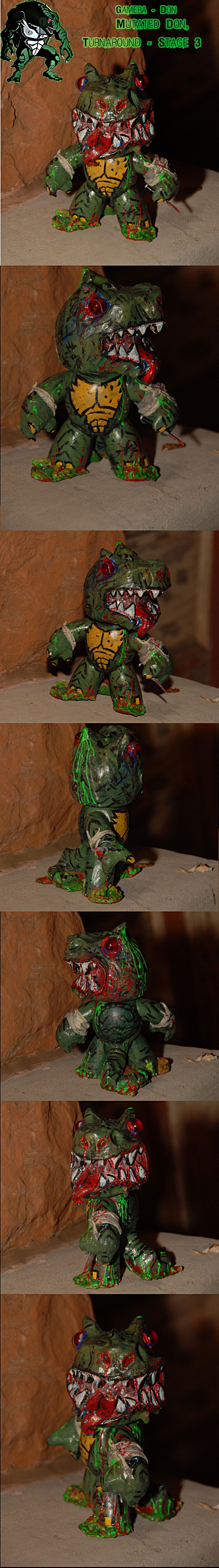tOkKA Muggs WAVE 2.0 :: Gamera - Don { Mutated Don - Stage 3 } final  //  Turnaround
