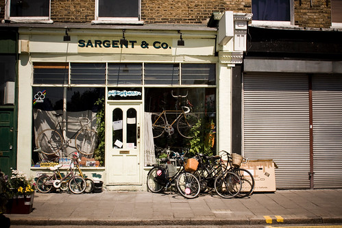 Sargent & Co. Bicycle Shop, London